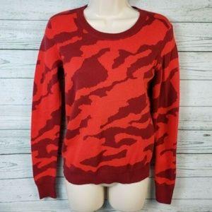 CAbi #3158 Red Camo Sakura Sweater
